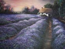 Lavender Dawn: SOLD
