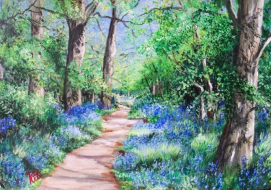 Bluebell Time: SOLD