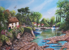 Along The Creek: SOLD