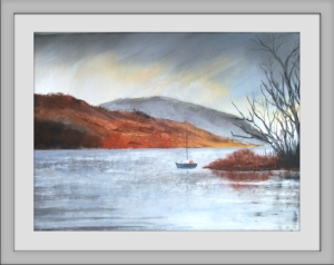Lake District Pastel