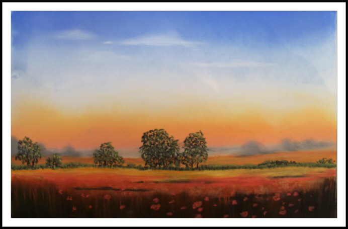 Dawn Over the Cornfield: from an original by Jeremy Ford
