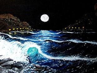Night Wave on Kos