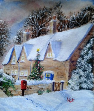 The cottage in winter